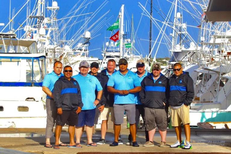 St Augustine Sailing hosts Texas law enforcement group